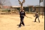 Video: Kyrie Irving Plays Cricket in South Africa