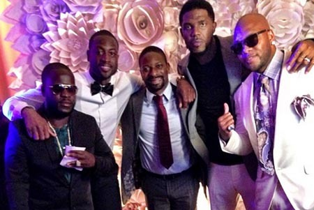 LeBron James and Dwyane Wade Attend Udonis Haslem's Wedding