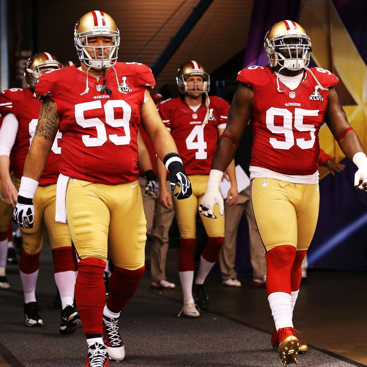 San Diego Chargers Depth Chart 2013: San Francisco 49ers Roster 2013: Latest Cuts, Depth Charts