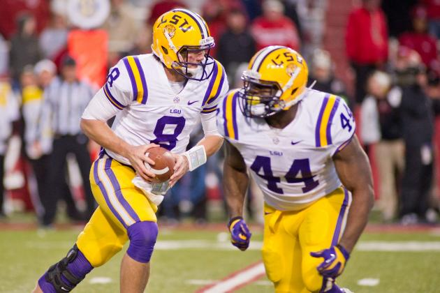 LSU Fullbacks Embrace Contact, Expanding Role
