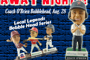 Photo: The State College Spikes Are Giving Away Bill O'Brien Bobbleheads