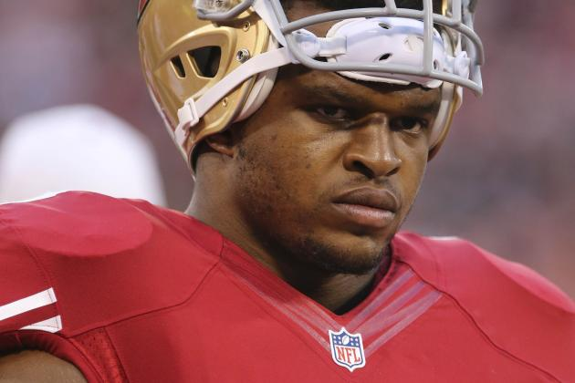 Lawrence Okoye Makes a Stride in 49ers' 34-14 Win
