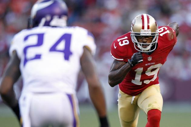Snap Count Underscores 49ers WR Pecking Order