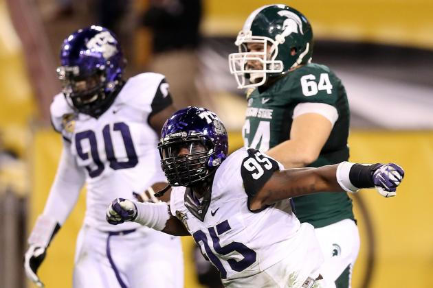 Suspended TCU DE Devonte Fields Will Be Close to LSU Action