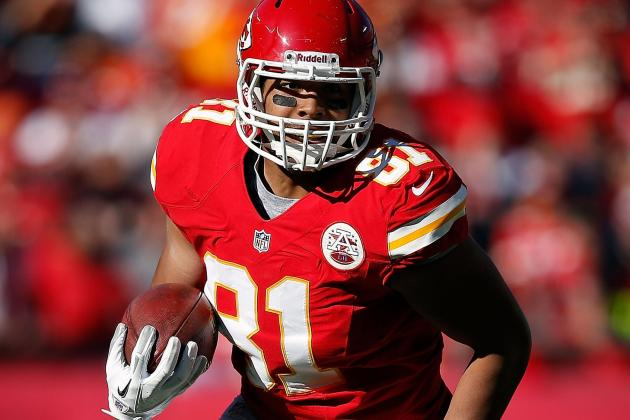 Chiefs Tight End Moeaki Fractures Shoulder
