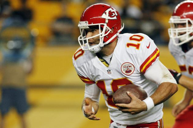 Chase Daniel Makes Most of Second-Half Chance with Chiefs: KansasCity.com