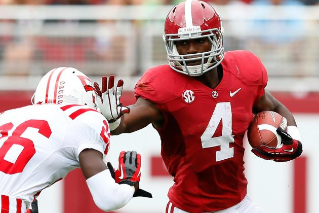 What to Expect from Alabama's Loaded Backfield vs. Virginia Tech