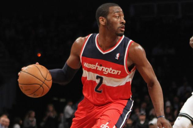Video: John Wall Makes It Rain