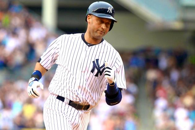 Derek Jeter Returns to New York Yankees After Calf Injury
