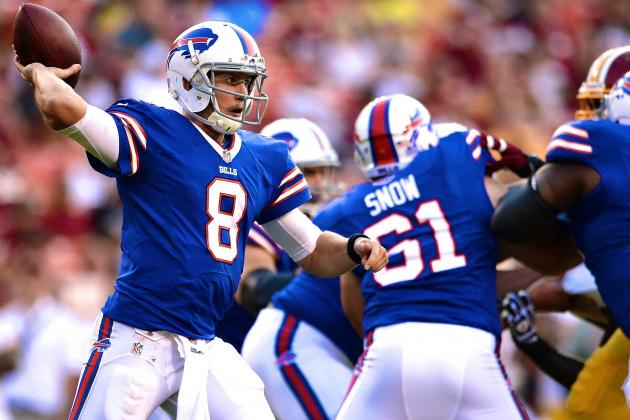 Jeff Tuel Likely to Be Buffalo Bills' Starting QB Week 1 vs New England Patriots