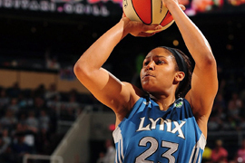 Maya Moore Scores Career-High 35 Points to Lead Lynx Past Fever, 84-77