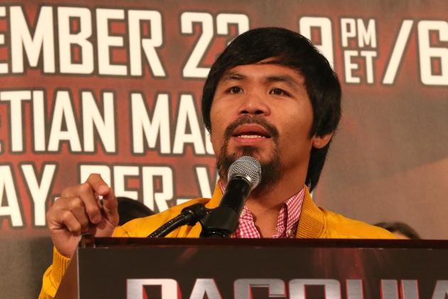 Pacquiao Sprains Ankle: Manila Standard Today