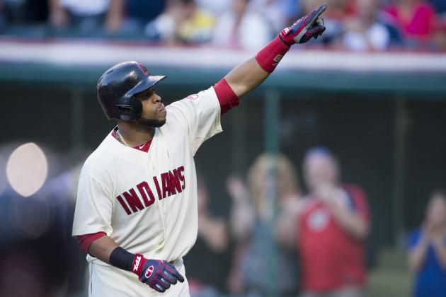 Carlos Santana and Jason Kipnis Homer at Request of Fan with Cerebral Palsy