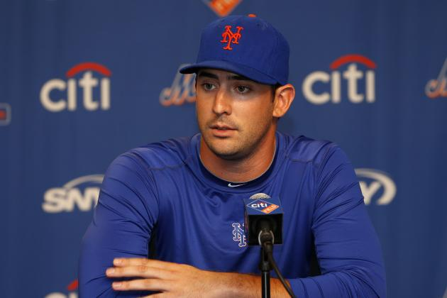 Twitter Reacts to Matt Harvey's Elbow Injury, Possible Tommy John Surgery