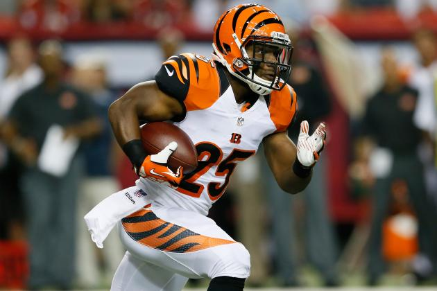 Giovani Bernard's Explosiveness Will Force Bengals to Keep RB on the Field