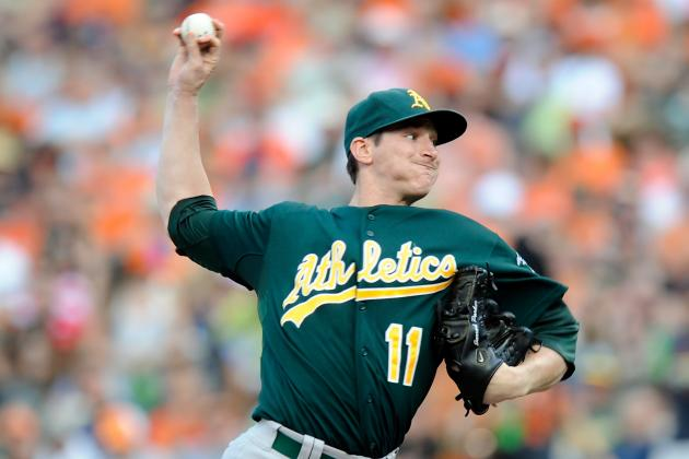 Breaking Down Jarrod Parker's Top Pitches
