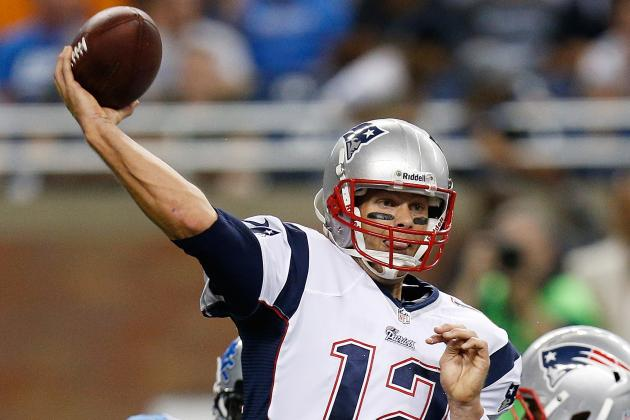 Patriots Passing Game Yet to Connect on Explosive 40-Yard Completions