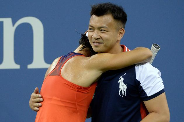 Serena Williams' Opponent Needs a Hug During the US Open