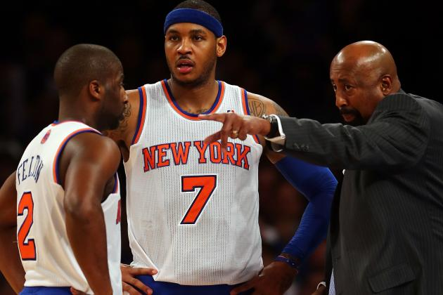 Figuring Out Viable Rotation Is NY Knicks' First Big Hurdle in 2013-14