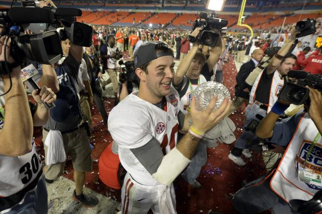A.J. McCarron Unlikely to Win Heisman Trophy During Senior Season