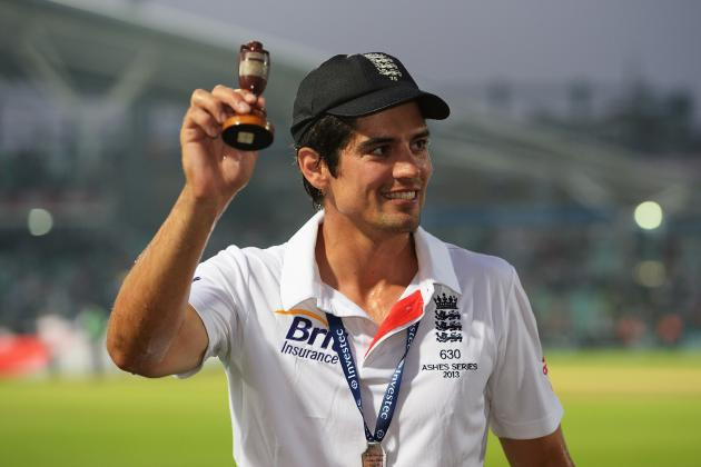 Alastair Cook Rested as England Name ODI Squad for Ireland and Australia
