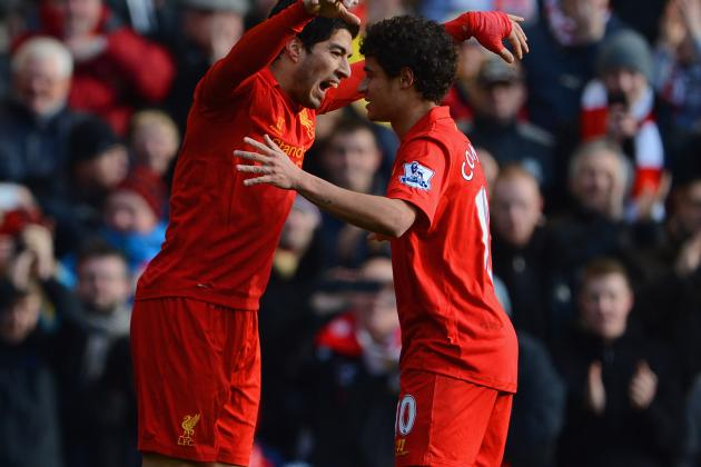 Just How Good Could a Suarez, Coutinho, Sturridge Attack Be for Liverpool?