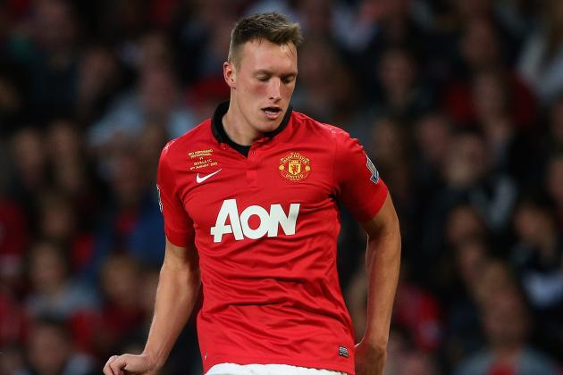 What Is Phil Jones' Best Position While Playing for Manchester United?