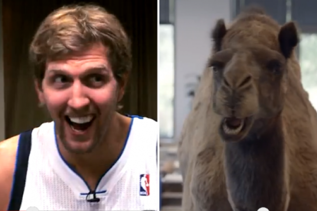 Dirk, Mavs Spoof 'Hump Day' Ad