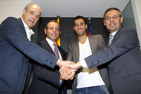 Sergio Busquets Signs Long-Term Extension to Remain with Barcelona