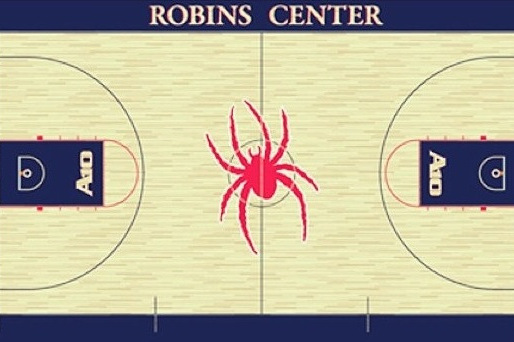 Richmond Unveils New Court Design at the Robins Center