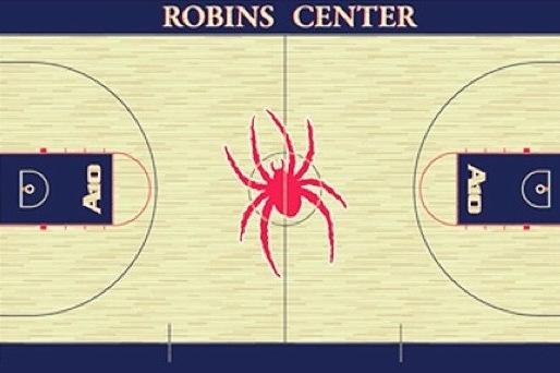Richmond Unveils New Court Design at the Robins Center