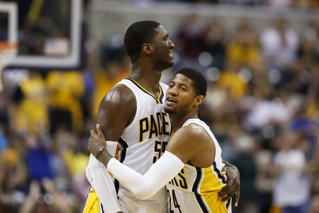 Roy Hibbert Says He Is Good with Paul George as Pacers Leader