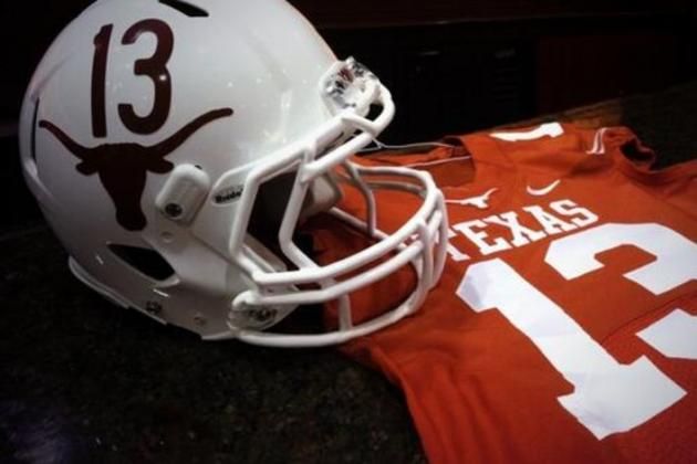 Texas Longhorns Football to Wear Throwback Helmets to Honor '63 Title Team