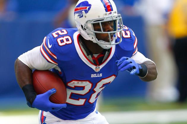 C.J. Spiller Will Return to Buffalo Bills on Sunday, September 1