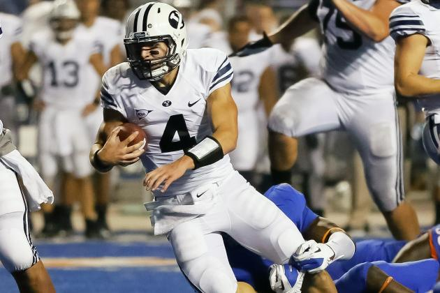 BYU Releases Depth Chart for Opener