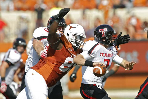 Texas Football: Senior DT Ashton Dorsey to Transfer