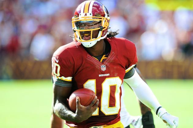 Robert Griffin III Claims He Can Run 4.3 40-Yard Dash After Knee Injury