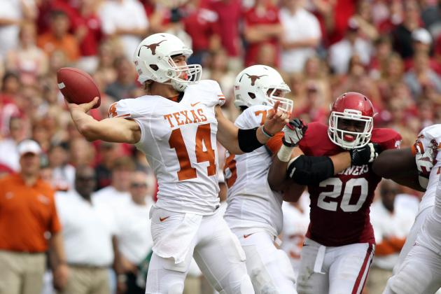 Big 12 Football: Rotating QBs at Some Schools, Radio Silence at Others