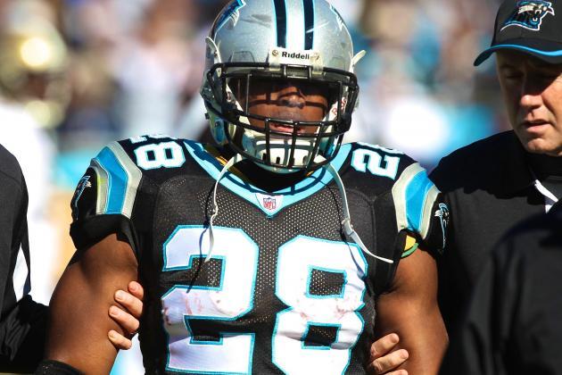 Jonathan Stewart Injury: Updates on Carolina Panthers RB's Ankle