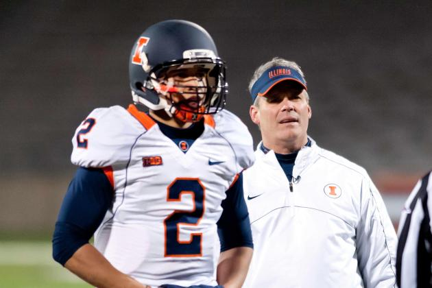 Illini Coordinators Will Coach from Sidelines