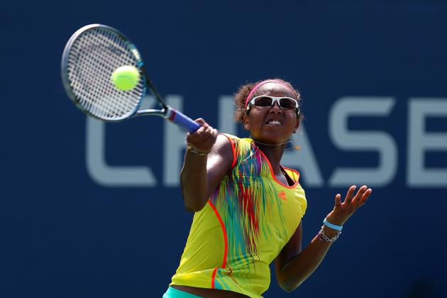 Young Haitian-American Tennis Phenom Victoria Duval Takes off Her Shades