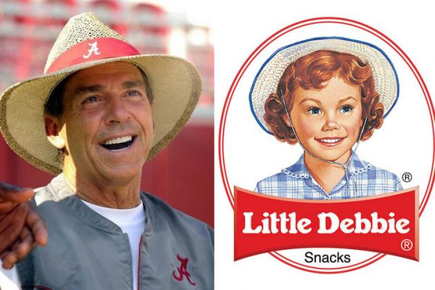 Alabama's Nick Saban Eats Little Debbies for Breakfast Every Morning