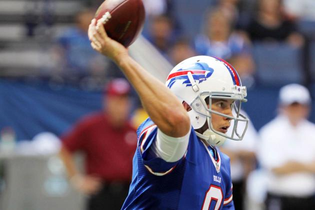 Jeff Tuel's Playing Time Poses Dilemma for Buffalo Bills in Preseason Week 4