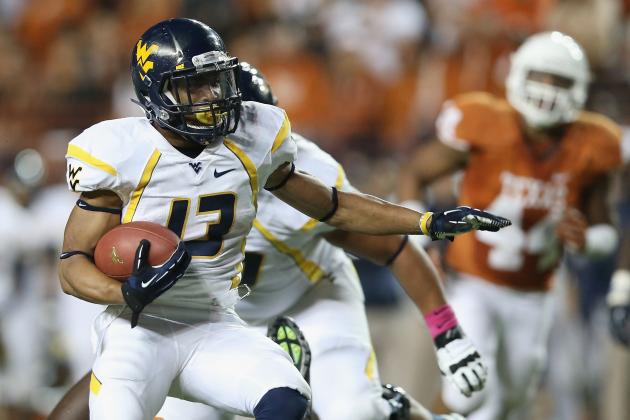 West Virginia Football: Redshirting RB Andrew Buie Is the Right Call