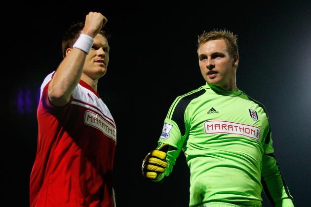 Burton 2-2 Fulham (4-5 on Penalties)