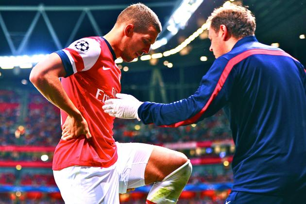 Lukas Podolski Injury: Update on Arsenal Star's Hamstring, Expected Return Date