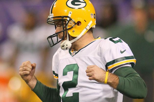 Packers Down to Just Mason Crosby at Kicker