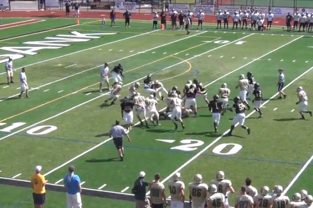 5-Star Recruit Jabrill Peppers Dominates the Defense with an Amazing Run
