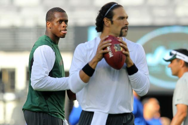 Mark Sanchez vs. Geno Smith QB Battle Just One of Jets' Many Problems