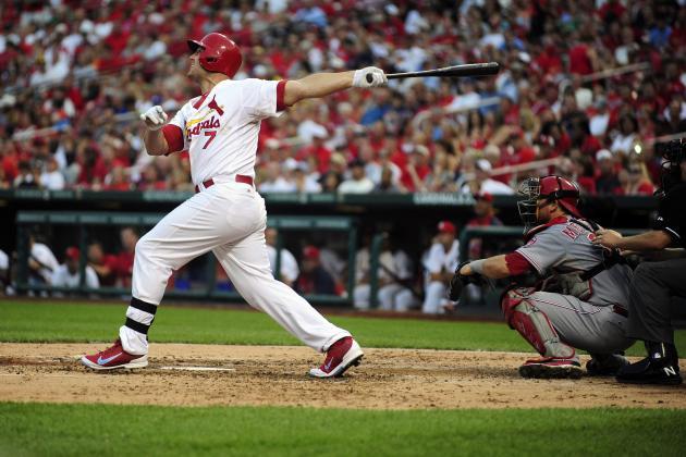 MLB Gamecast: Reds vs. Cardinals
